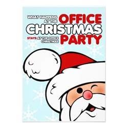 christmas office party invitations 5 quot x 7 quot invitation card zazzle