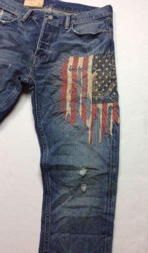 denim supply ralph lauren men distressed american flag