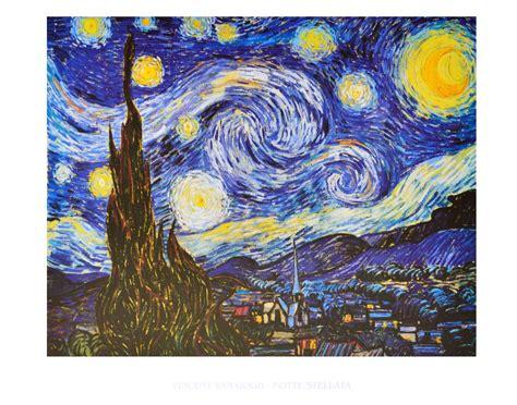 Kunstdrucke Bestellen by Vincent Gogh Sternennacht Poster Kunstdruck Bei
