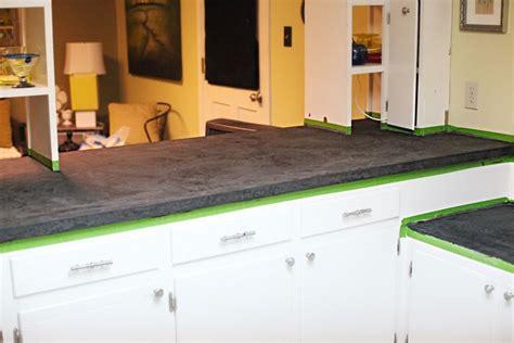 how to redo kitchen countertops countertop redo crafty
