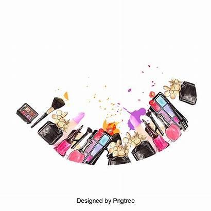 Makeup Clipart Transparent Tools Beauty Creative Vector
