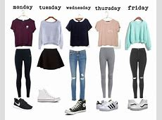 Outfits for school Polyvore Style