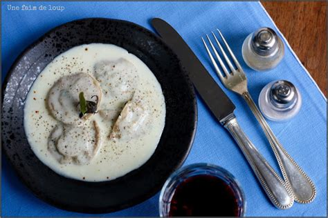 cuisiner noix de veau recettes de raiovles par une faim de loup raviolis
