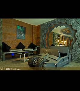 une chambre d39hotel au look de batman With peut on prendre une chambre d hotel pour quelques heures