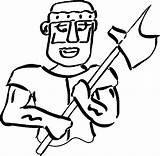 Coloring Roman Soldier Axe Boys Soldiers Awesome Wecoloringpage sketch template