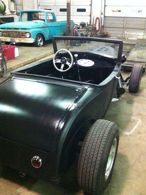 ford model  sport coupe roadster hot rod rat rod