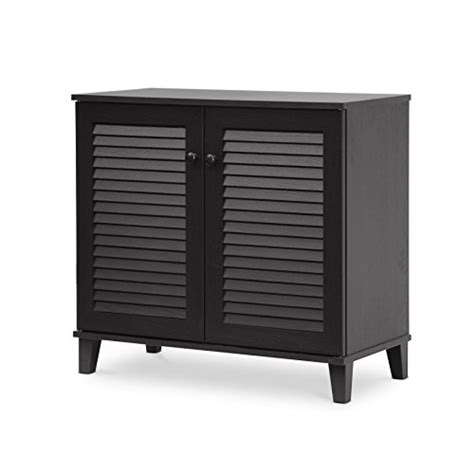 Baxton Studio Shoe Cabinet Canada by Baxton Studio Coolidge Shoe Storage Cabinet Espresso