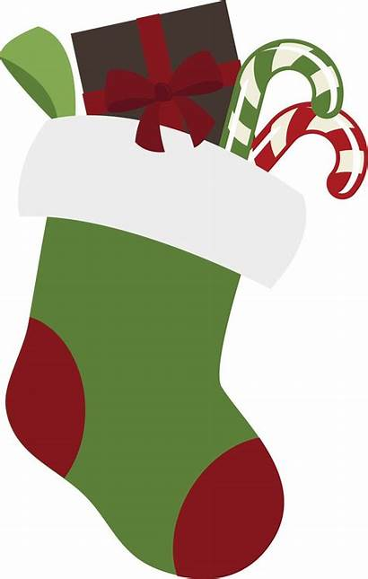 Stocking Christmas Clip Clipart Stockings Designs Members