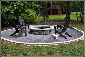 Backyard Fire Pit Ideas: the Gravel around Pit Duckness