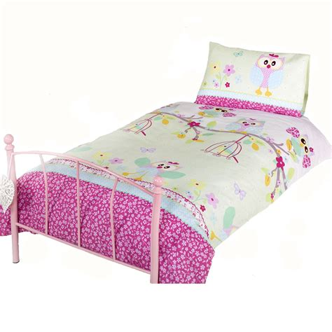 Owl Bedding by Owls Twit Twoo Duvet Cover Bed Sheets Set New