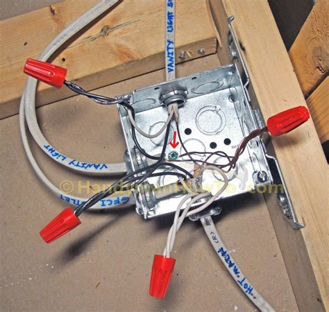How Finish Basement Bathroom Ceiling Junction Box