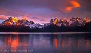 Patagonia Chile Torres Del Paine National Park Dawn