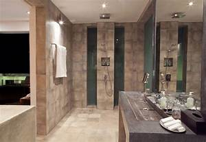 Shower  Large Stone Sink  Casa Hannah In Bali  Indonesia By Bo Design   Fresh Palace