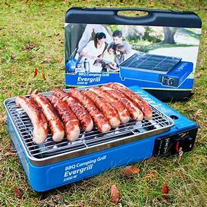 Gasgrill Camping Gas Grill BBQ Evergrill Reisegrill