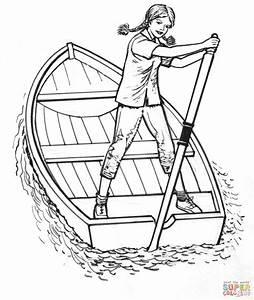 Row Boat Drawing At Getdrawings