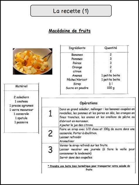 fiche technique cuisine modele fiche recette cuisine vierge cb71 jornalagora