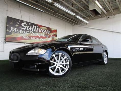 2009 Maserati Quattroporte For Sale by Used 2009 Maserati Quattroporte For Sale Carsforsale 174