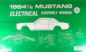 1964 Ford Mustang Electrical Assembly Manual Wiring