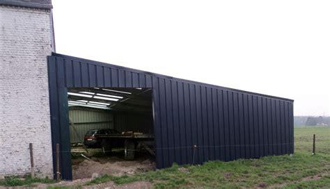 agri sheds agricultural shed lean to belgium easysteelsheds