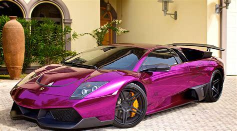 Purple Lamborghini Aventador Wallpaper