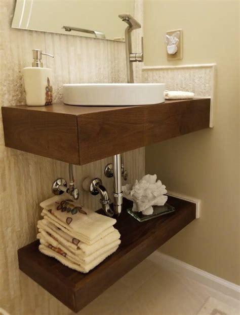 floating bath vanity no finish etsy floating