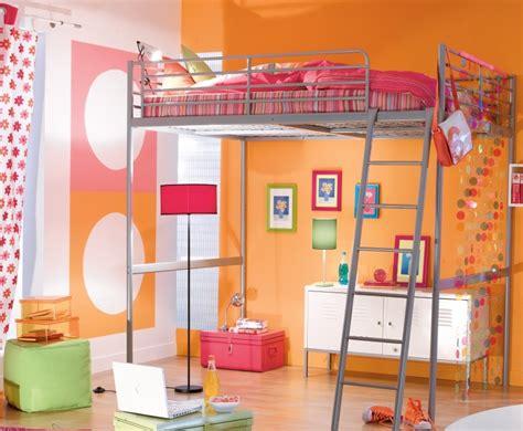 chambre fille lit mezzanine idee deco chambre fille avec lit mezzanine paihhi com