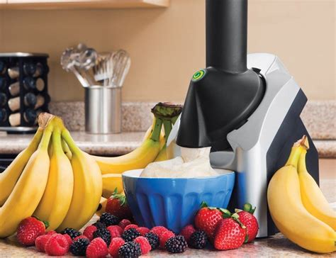 Kitchen Living Frozen Treat Maker by Yonanas Frozen Healthy Dessert Maker 187 Gadget Flow