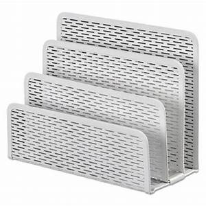artistic urban collection punched metal letter sorter With white letter sorter