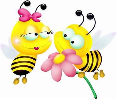 Bee Bumble Cartoon Clip Bees Clipart Clipartandscrap