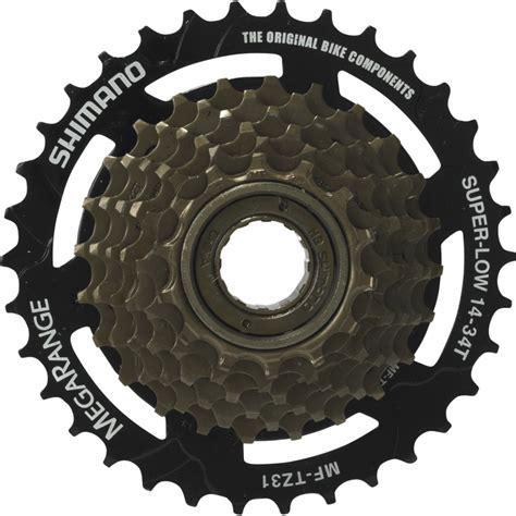 shimano mf tz31 7 speed on freewheel 14 34t megarange