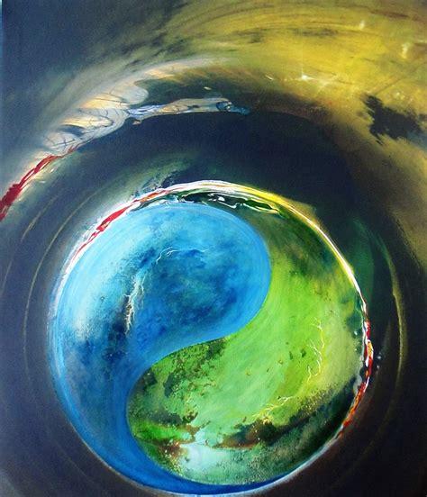 yin   artist ashok roy impressionism painting