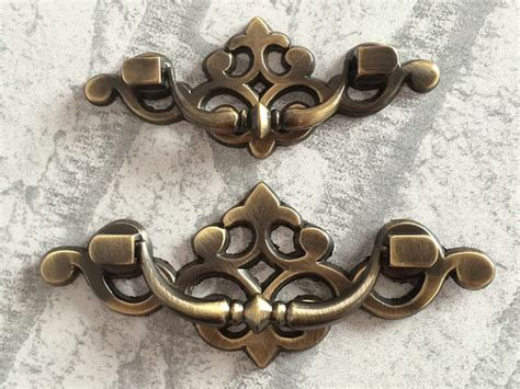 35 inch drawer pulls vintage 2 5 3 35 quot dresser pull drawer pulls handles antique bronze
