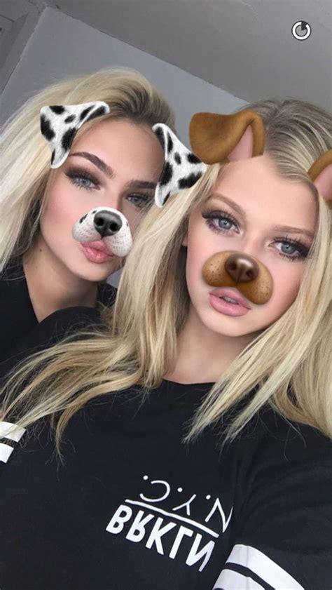 Hot Instagram Girl Models Dog Filter Snapchat Black