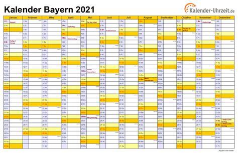 Bitte aktivieren sie diese option in ihrem browser, bevor sie den kalender. Feiertage 2021 Bayern + Kalender