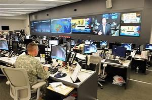 Military, Photos, National, Guard, Command, Center, Handles, Hurricane, Irene