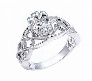 zales diamond engagement rings the diamond claddagh and With irish wedding rings for women