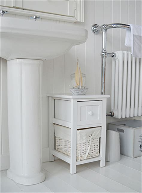 Small White Bathroom Cabinet by Bar Harbor Narrow Small White Bathroom Cabinet With 2
