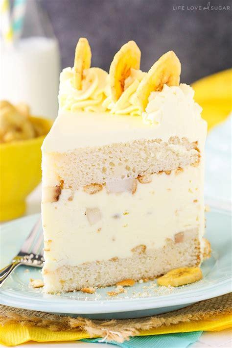 banana pudding ice cream cake life love  sugar
