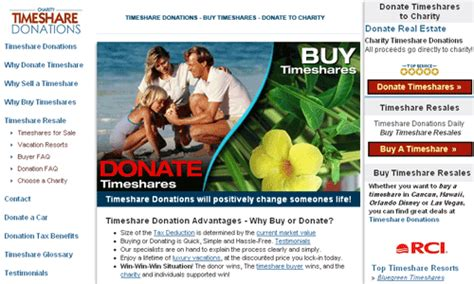 Give Car To Charity Tax Deduction - donate timeshare to charity