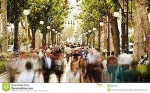Blurred People Stock Photo - Image: 9032440