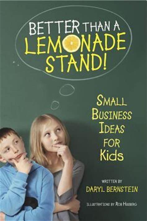 lemonade stand small business ideas