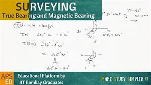 True Bearing And Magnetic Bearing