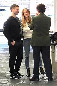 Tobey Maguire and Jennifer Meyer reunite for lunch | Daily ...