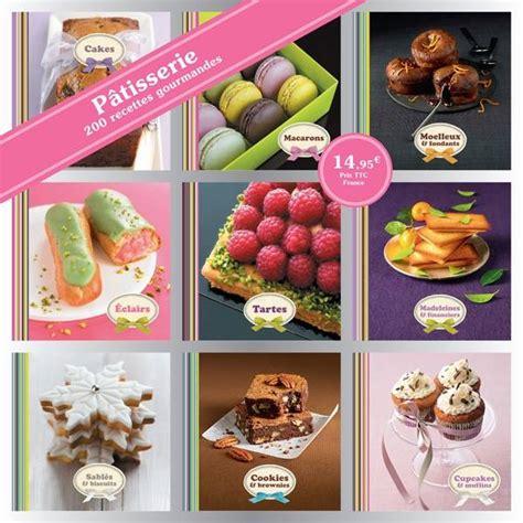 hachette pratique cuisine livre coffret 9 mini livres pâtisserie 200 recettes