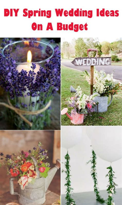 outdoor wedding ideas for spring on a budget 20 creative diy wedding ideas for 2016 spring all
