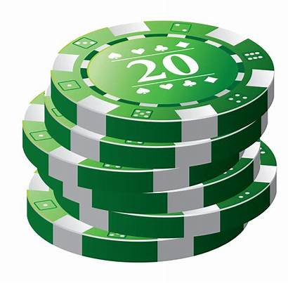 Poker Chips Transparent Background Roulette Clipart Casino
