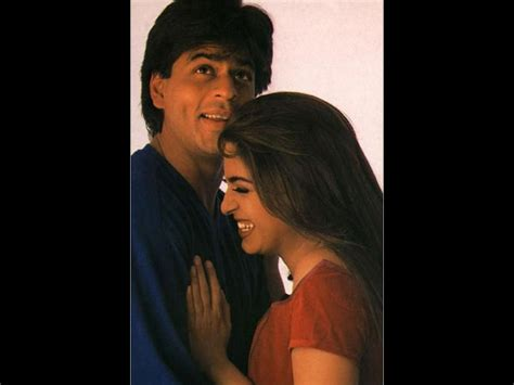 10 Sweetest Pictures Of Shahrukh Khan & Juhi Chawla From