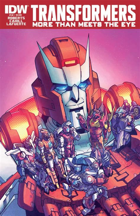 Transformers: More than Meets the Eye #40 Full Preview - Transformers News - TFW2005