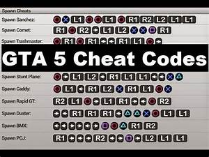 Code Gt5 Ps4 : gta 5 cheat codes to boost your gaming experience youtube ~ Medecine-chirurgie-esthetiques.com Avis de Voitures