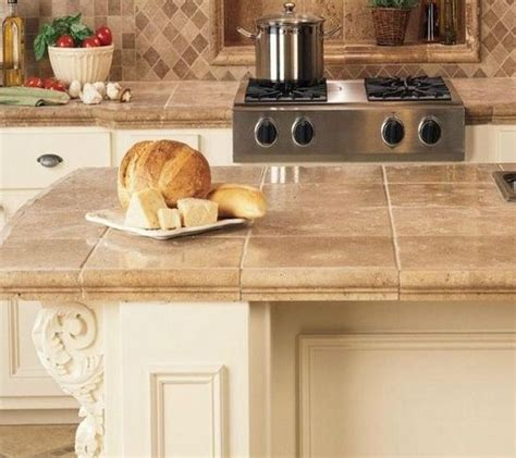 Tile Kitchen Countertops by D 233 Cor Trend 24 Tile Kitchen Countertops Digsdigs